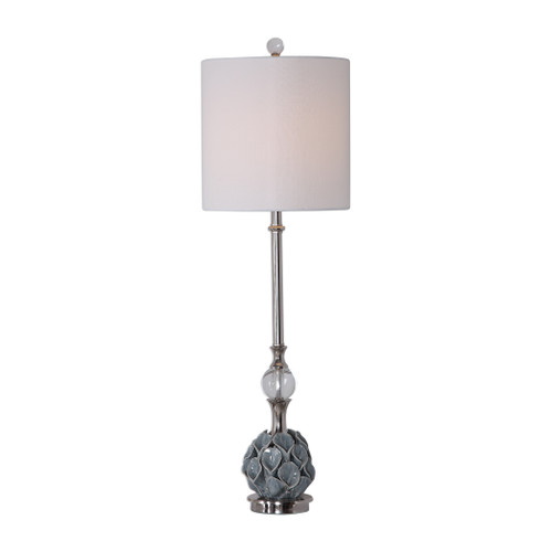 Uttermost Elody Blue Gray Buffet Lamp by David Frisch