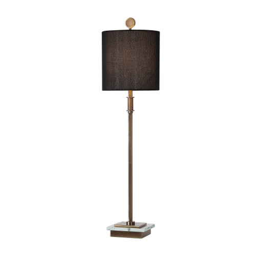 Uttermost Volante Antique Brass Table Lamp by Matthew Williams