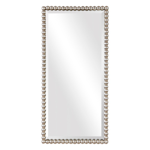 Uttermost Serna Antiqued Silver Mirror by Grace Feyock