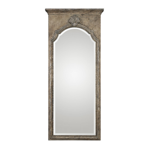 Uttermost Nevola Antiqued Silver Mirror by Grace Feyock