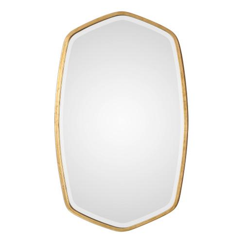 Uttermost Duronia Antiqued Gold Mirror  by David Frisch