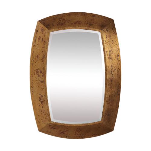 Uttermost Syrah Antique Gold Mirror by David Frisch
