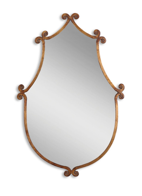 Uttermost Ablenay Antique Gold Mirror by Grace Feyock