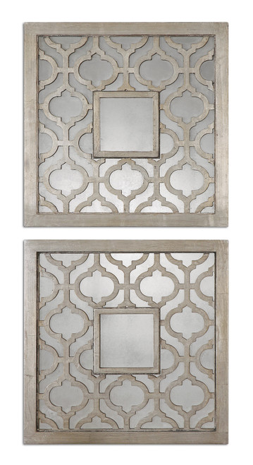 Uttermost Sorbolo Squares Decorative Mirror Set/2 by Grace Feyock