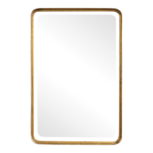 Uttermost Crofton Antique Gold Mirror by Grace Feyock