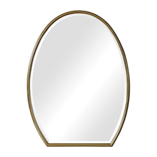 Uttermost Kenzo Modified Oval Mirror by Grace Feyock