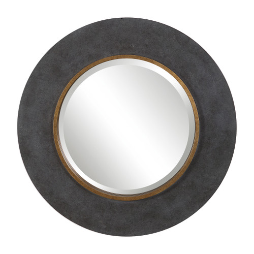 Uttermost Saul Round Mirror by David Frisch