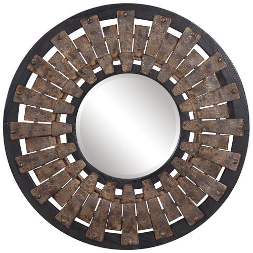 Uttermost Hyman Round Mirror by Renee Wightman