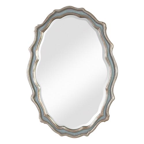Uttermost Dorgali Slate Blue Mirror by Grace Feyock