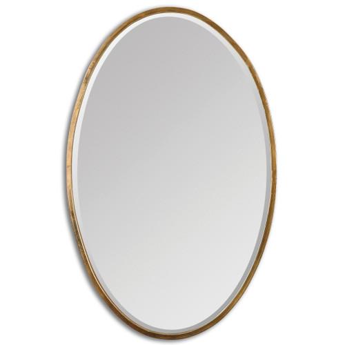Uttermost Herleva Gold Oval Mirror by Grace Feyock