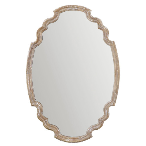 Uttermost Ludovica Aged Wood Mirror by Grace Feyock