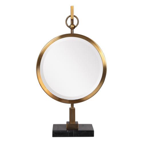 Uttermost Nori Bronze Tabletop Mirror by John Kowalski