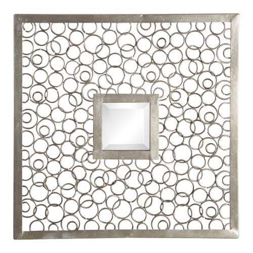 Uttermost Colusa Squares Silver Mirror Set/2 by Grace Feyock
