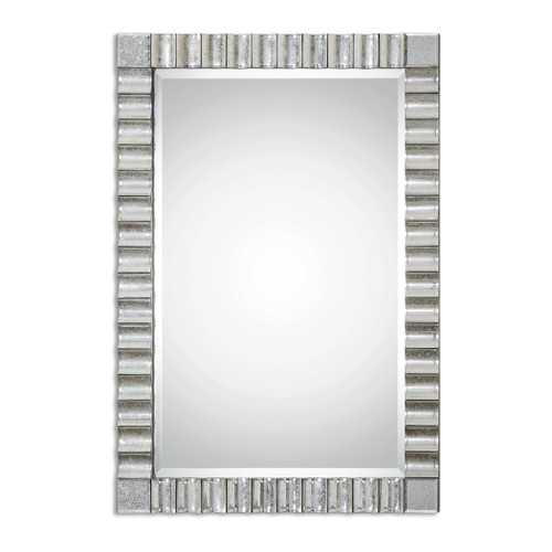 Uttermost Amisos Scalloped Wall Mirror by Matthew Williams