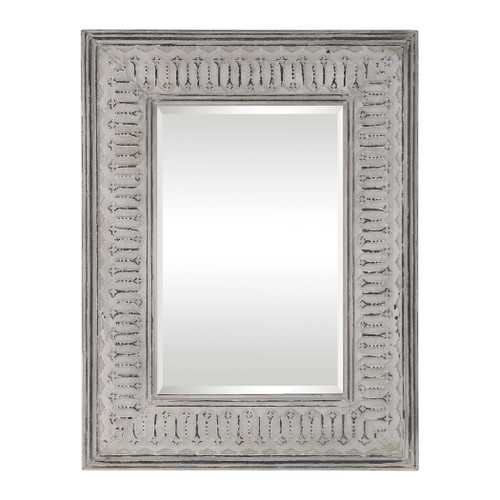 Uttermost Argenton Aged Gray Rectangle Mirror