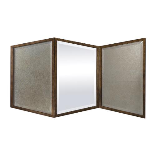 Uttermost Viva Gold Mirror by Matthew Williams