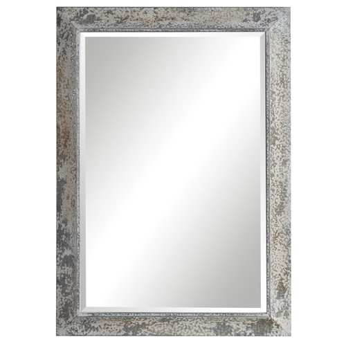 Uttermost Raffi Aged Silver Mirror by David Frisch