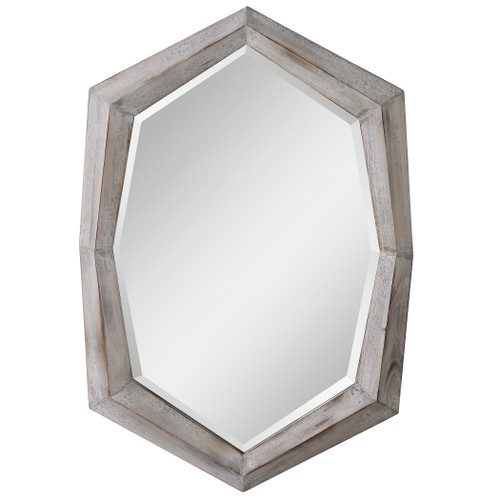 Uttermost Turano Aged Ivory Mirror by Grace Feyock
