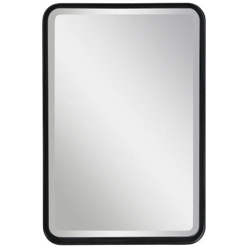 Uttermost Croften Black Vanity Mirror by Grace Feyock