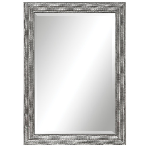 Uttermost Alwin Silver Mirror by Grace Feyock