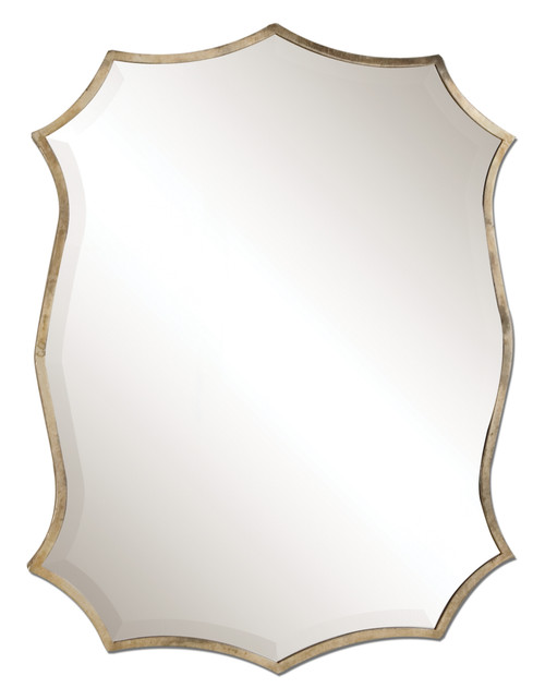 Uttermost Migiana Metal Framed Mirror by Grace Feyock
