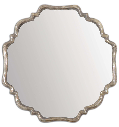 Uttermost Valentia Silver Mirror by Grace Feyock