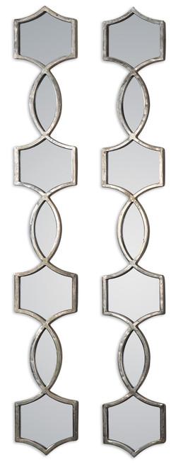 Uttermost Vizela Metal Mirrors Set/2