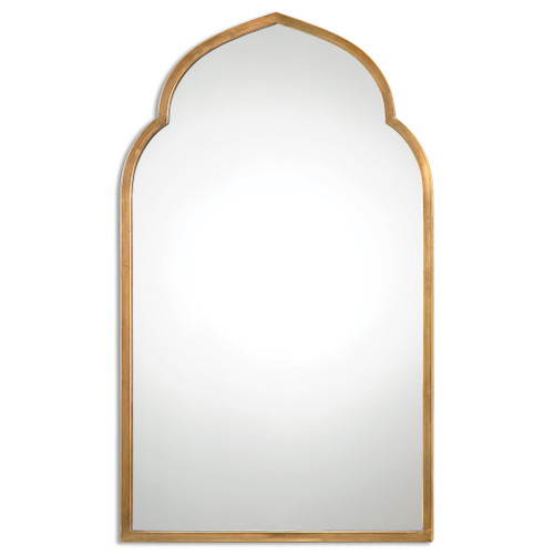 Uttermost Kenitra Gold Arch Mirror by Grace Feyock