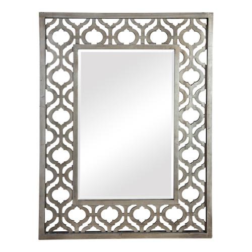 Uttermost Sorbolo Silver Mirror by Grace Feyock