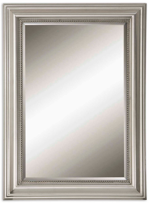 Uttermost Stuart Silver Beaded Mirror