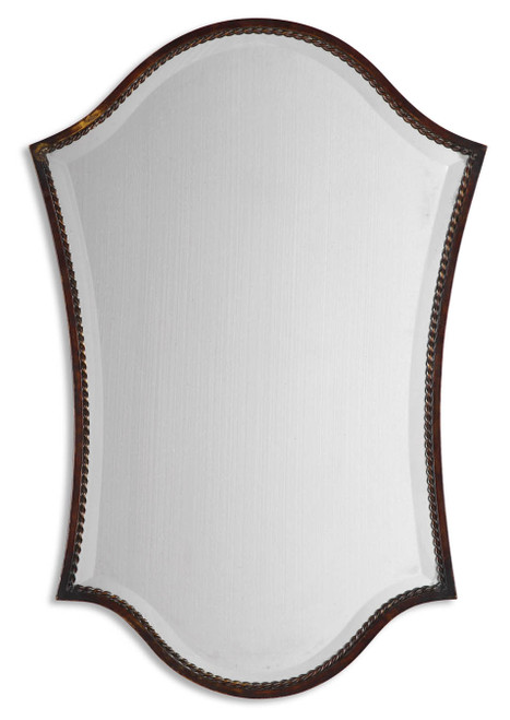 Uttermost Abra Bronze Vanity Mirror by Grace Feyock