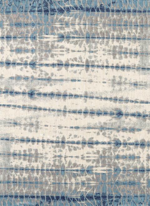 Karastan Expressions Shibori Stripe Indigo by Scott Living