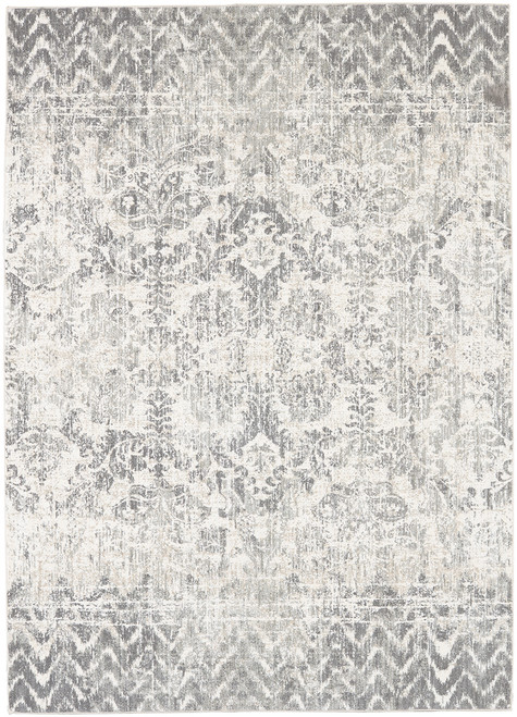 Karastan Touchstone Le Jardin Willow Gray by Patina Vie