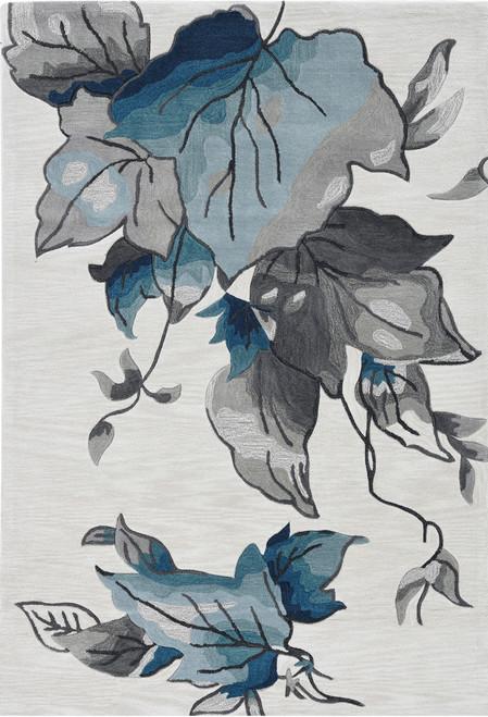 KAS Coral 4171 Ivory Blue Laguna