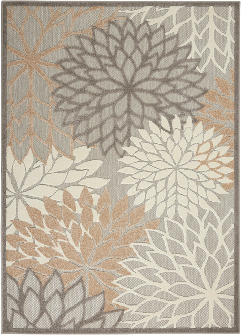 Nourison Aloha Cream Patio Area Rug - NOR-ALH05-Natural
