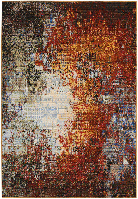 Nourison Chroma Ember Glow Area Rug - NOR-CRM03-Ember Glow