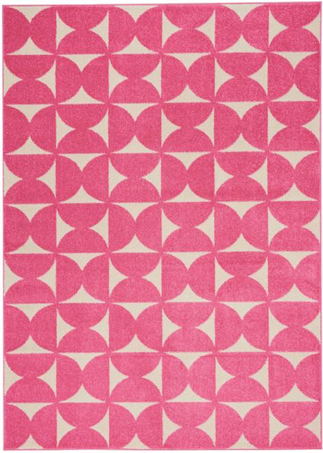 Nourison Harper Pink Kids Area Rug - NOR-DS301-Pink
