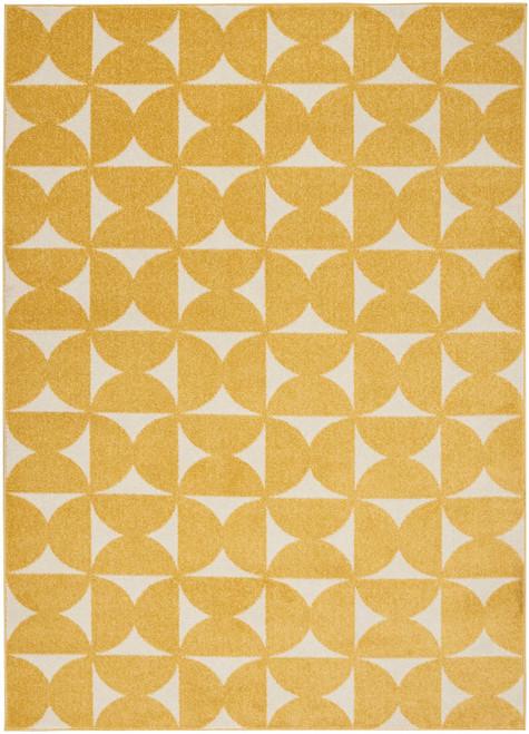 Nourison Harper Yellow Kids Area Rug - NOR-DS301-Yellow