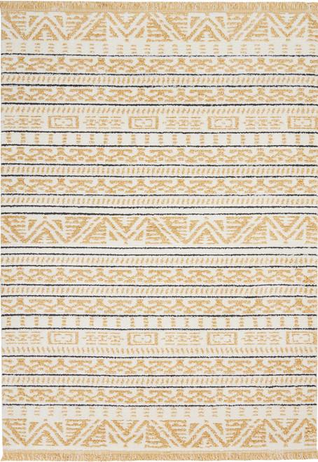 Nourison Kamala Yellow Area Rug - NOR-DS503-Yellow