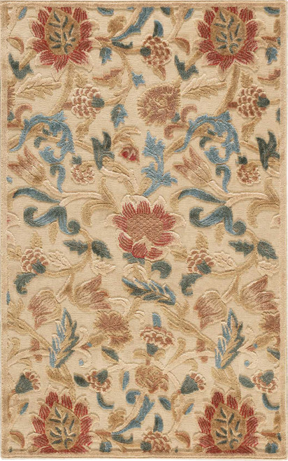 Nourison Graphic Illusions Light Gold Area Rug - NOR-GIL06-Light Gold