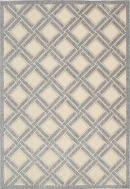 Nourison Graphic Illusions Ivory Area Rug - NOR-GIL21-Ivory