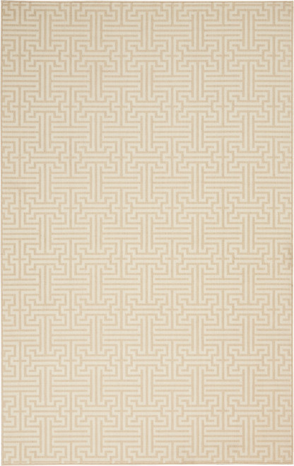 Nourison Interlock Sand-Ivory Area Rug - NOR-INTLK-Sand-Ivory