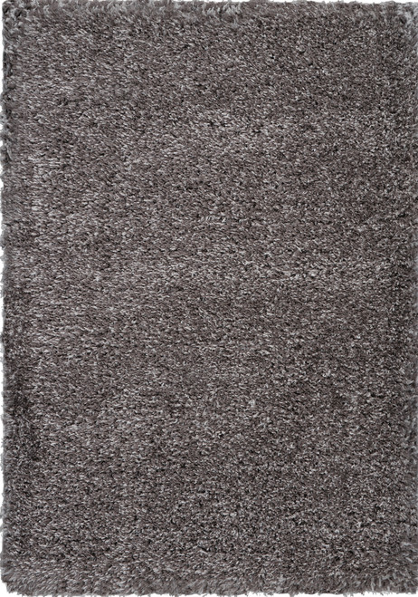Nourison Luxe LXS01 Charcoal Grey Flokati Area Rug - NOR-LXS01-Charcoal Grey