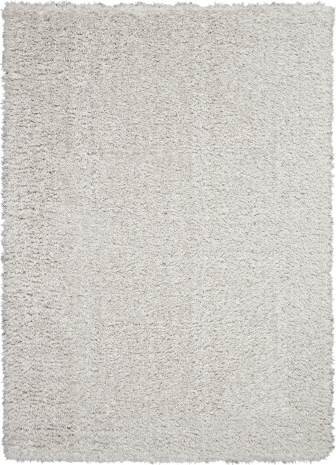 Nourison Luxe LXS01 Grey Flokati Area Rug - NOR-LXS01-Grey