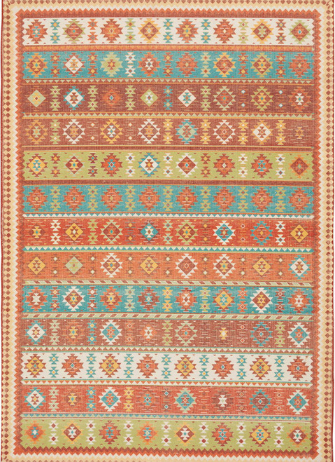 Nourison Madera Light Orange Area Rug - NOR-MAD08-Light Orange