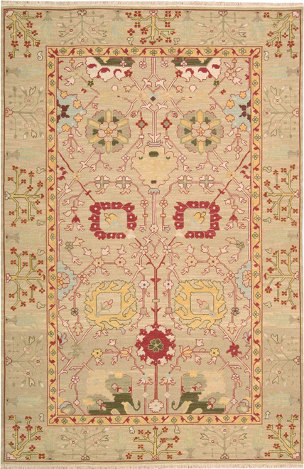 Nourison Nourmak Gold Area Rug - NOR-S123-Gold
