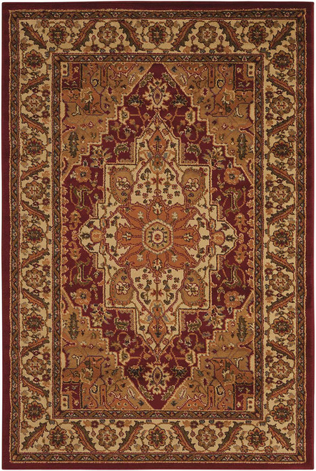 Nourison Paramount Gold Area Rug - NOR-PAR05-Gold
