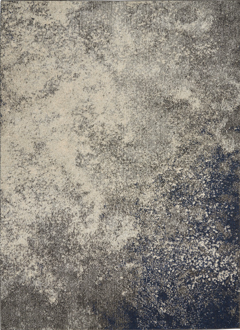 Nourison Passion Charcoal and Ivory Area Rug - NOR-PSN10-Charcoal-Ivory