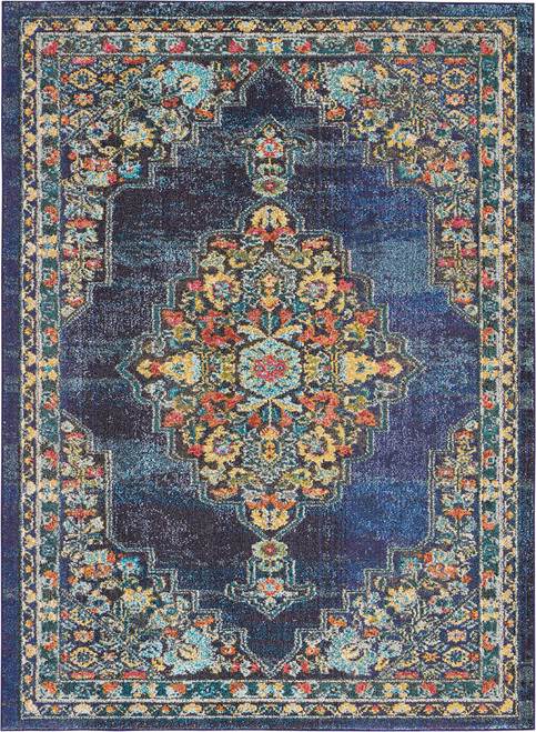 Nourison Passionate Navy Area Rug - NOR-PST01-Navy