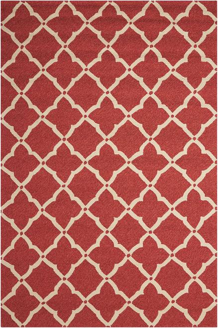 Nourison Portico Red Indoor-Outdoor Area Rug - NOR-POR01-Red